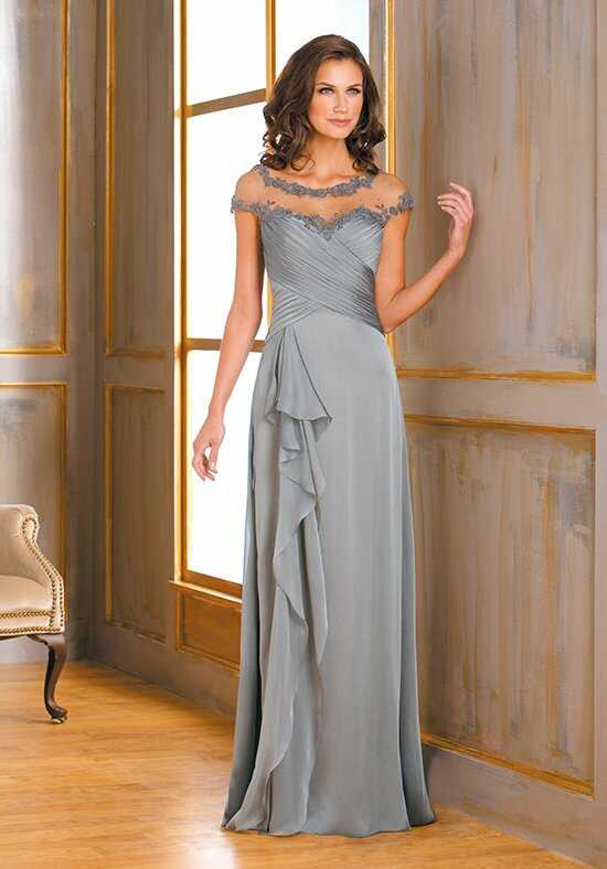 Jade J175013 Silver Mother Of The Bride Dress