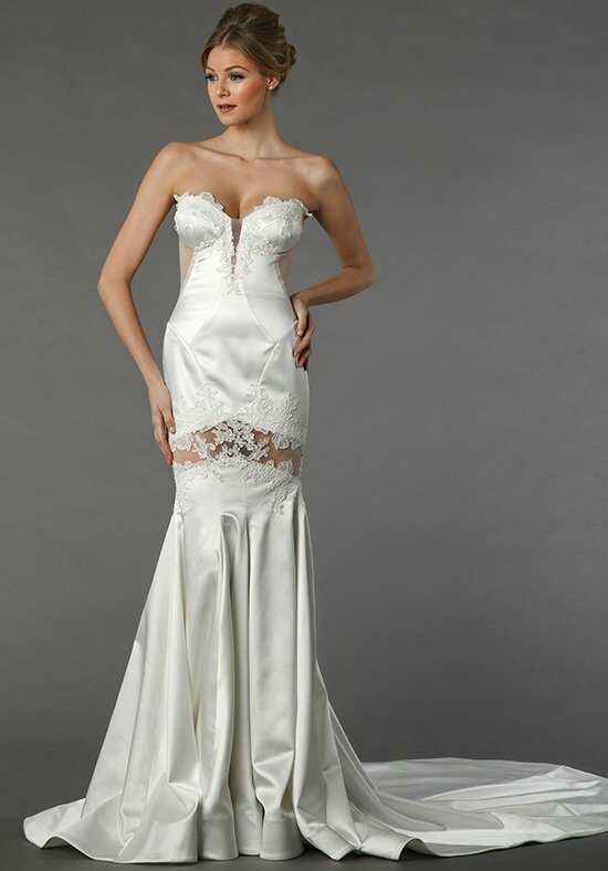 Pnina Tornai for Kleinfeld 4367 Sheath Wedding Dress