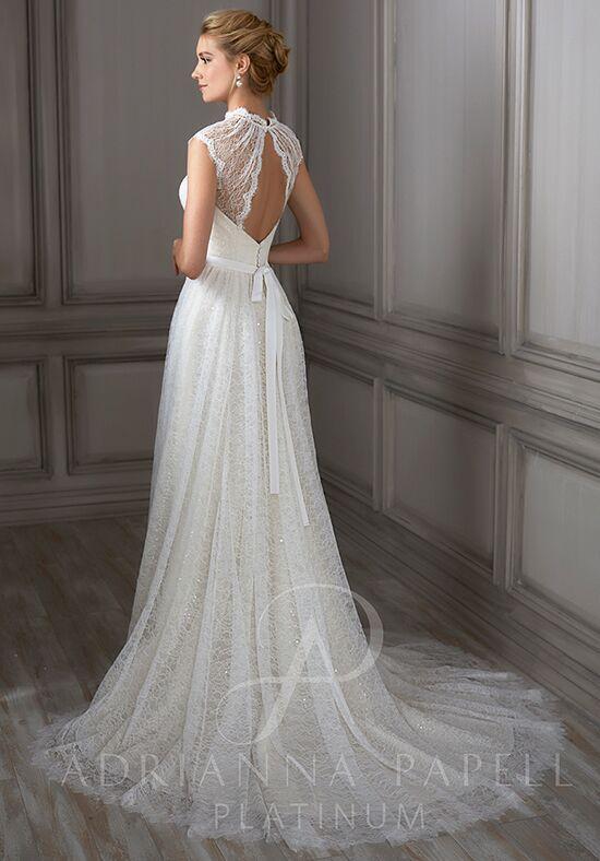 Adrianna Papell Platinum Juliet Wedding Dress - The Knot
