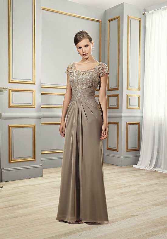 Val Stefani Celebrations MB7506 Gold Mother Of The Bride Dress