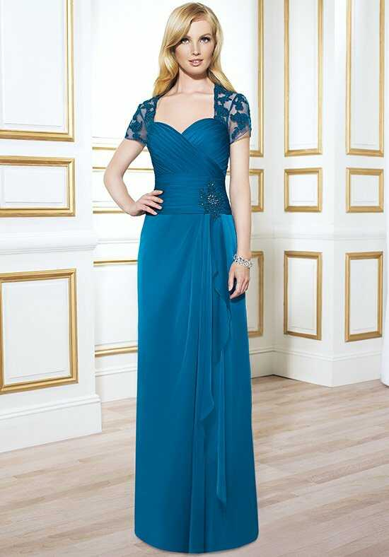 Val Stefani Celebrations MB7412 Blue Mother Of The Bride Dress