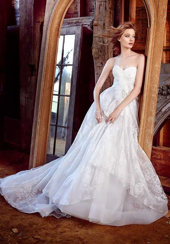 Lazaro 3552 Ball Gown Wedding Dress