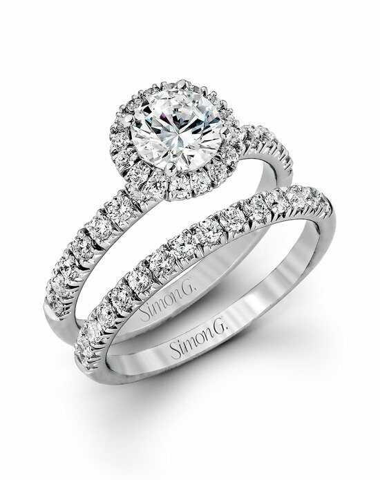 Simon G. Jewelry MR1811 Engagement Ring photo