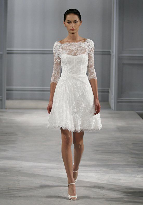 Short Mermaid Wedding Dress