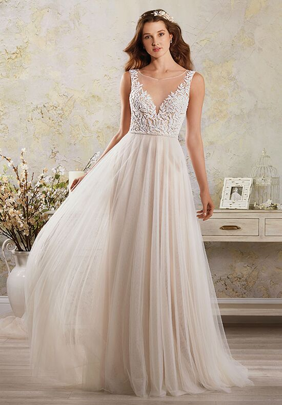 Alfred Angelo Modern Vintage Bridal Collection 5006 A Line Wedding Dress