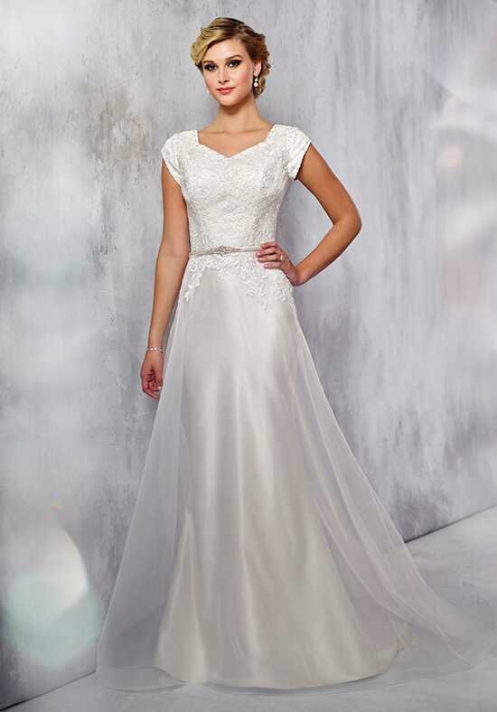 Modest by Mon Cheri TR21713 A-Line Wedding Dress