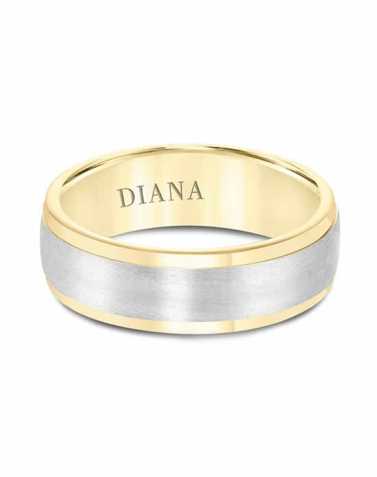 Diana 11-N7169W Gold Wedding Ring