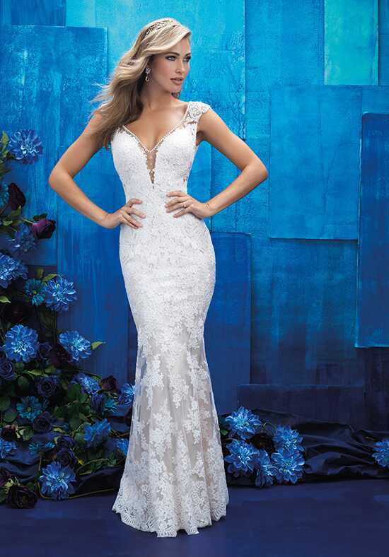 Allure Bridals 9409 Sheath Wedding Dress