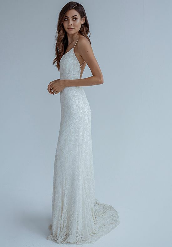 KAREN WILLIS HOLMES Skye Mermaid Wedding Dress