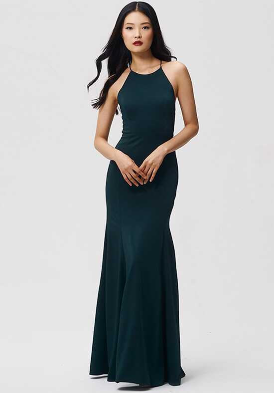 Jenny Yoo Collection (Maids) Naomi Halter Bridesmaid Dress