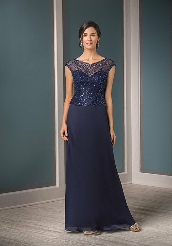 Jade Couture K188013 Blue Mother Of The Bride Dress