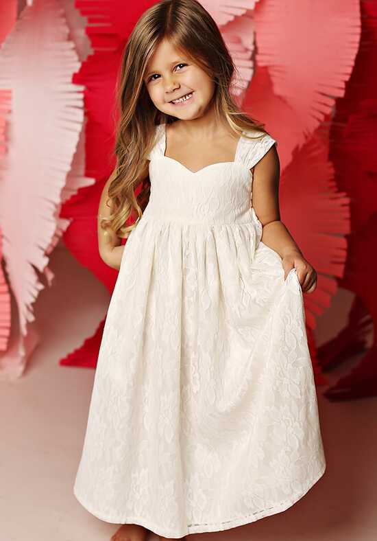 FATTIEPIE Greece Ivory Flower Girl Dress