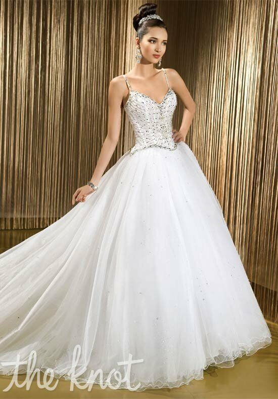 Demetrios 520 Ball Gown Wedding Dress