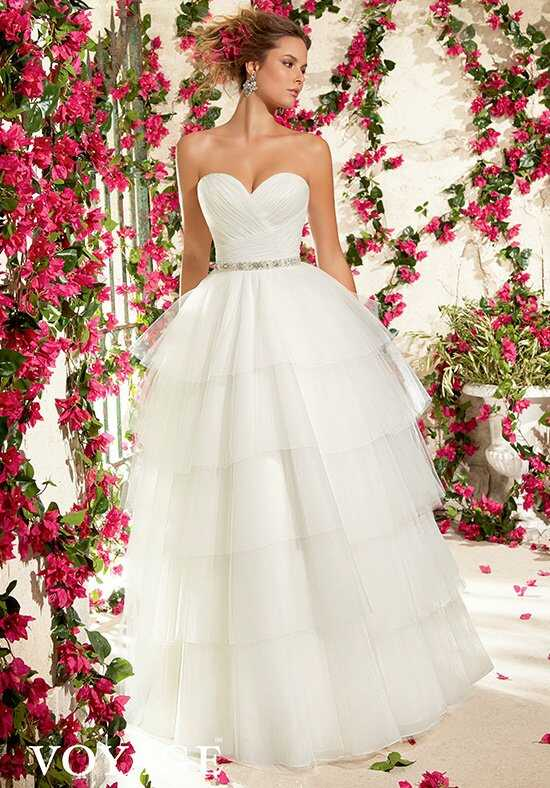 Morilee by Madeline Gardner/Voyage 6796 Ball Gown Wedding Dress
