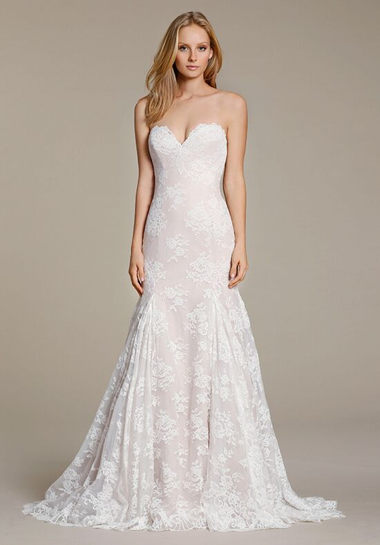 Jim Hjelm 8608 Mermaid Wedding Dress