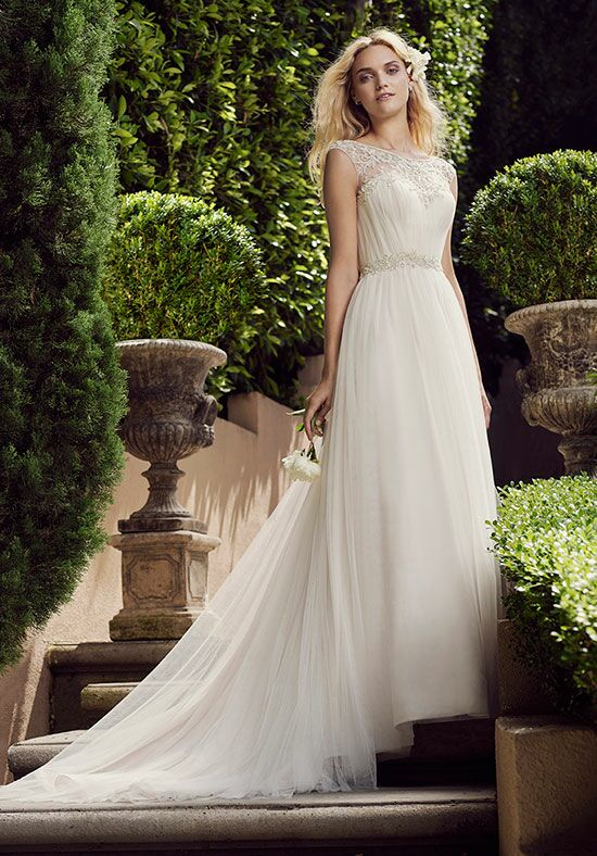 Casablanca Bridal 2225 Gardenia A-Line Wedding Dress