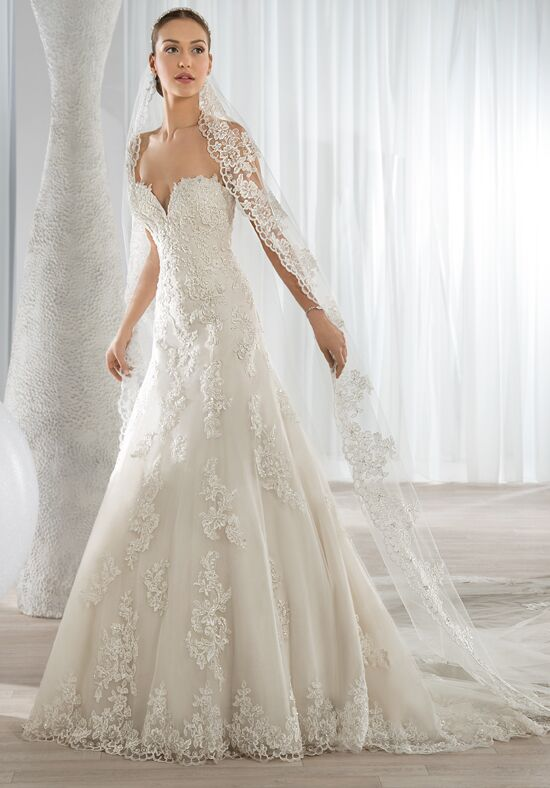 Demetrios 620 A-Line Wedding Dress