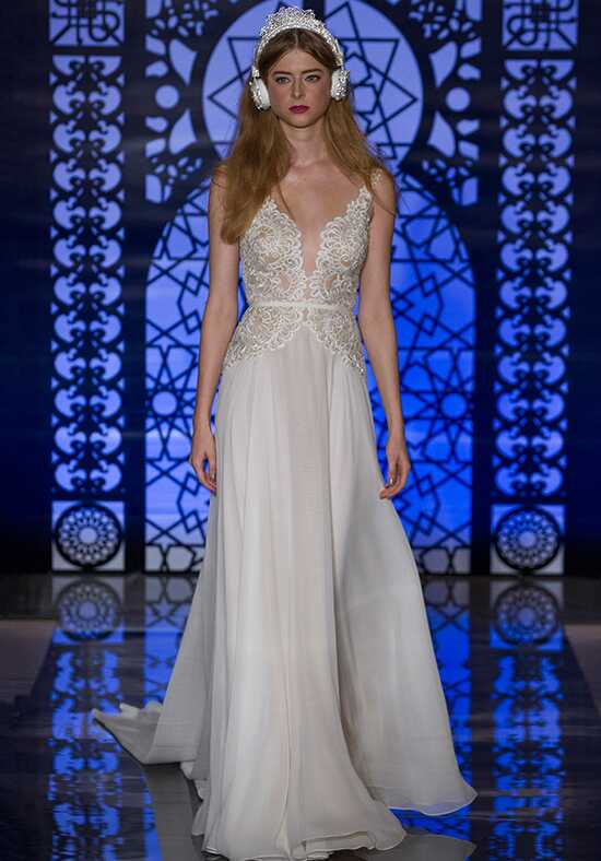 Reem Acra Amelie A-Line Wedding Dress