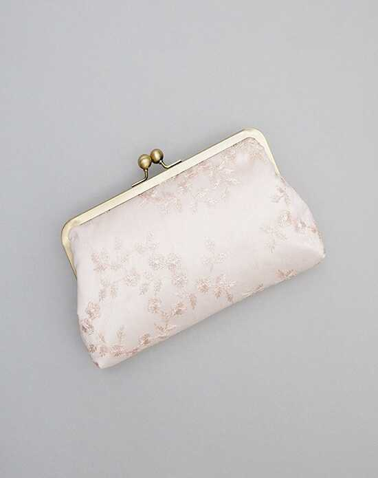 Davie & Chiyo | Clutch Collection Antoinette Clutch Ivory, Pink Clutches + Handbag