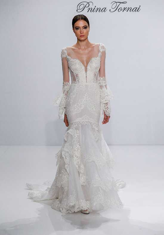 pnina tornai for kleinfeld 4524 mermaid wedding dress
