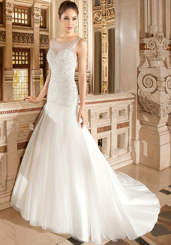 Demetrios 568 Mermaid Wedding Dress