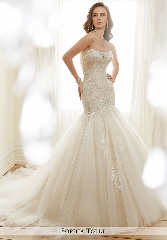 Sophia Tolli Y11727 Rey Mermaid Wedding Dress