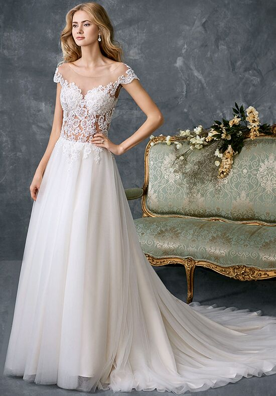 Kenneth Winston 1764 A-Line Wedding Dress