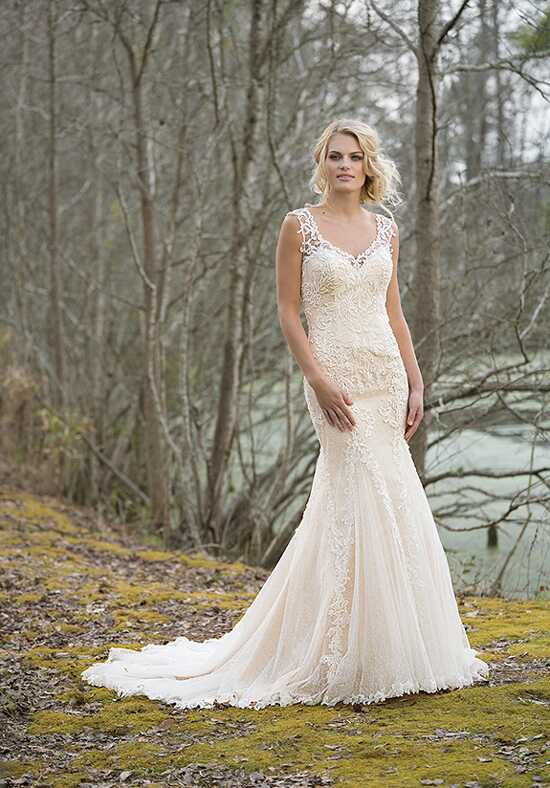 Lillian West 6459 A-Line Wedding Dress