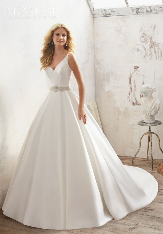 A Lined Wedding Dress