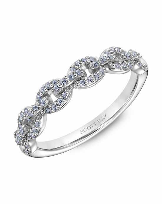 Scott Kay 31-SK6037W-L Platinum Wedding Ring