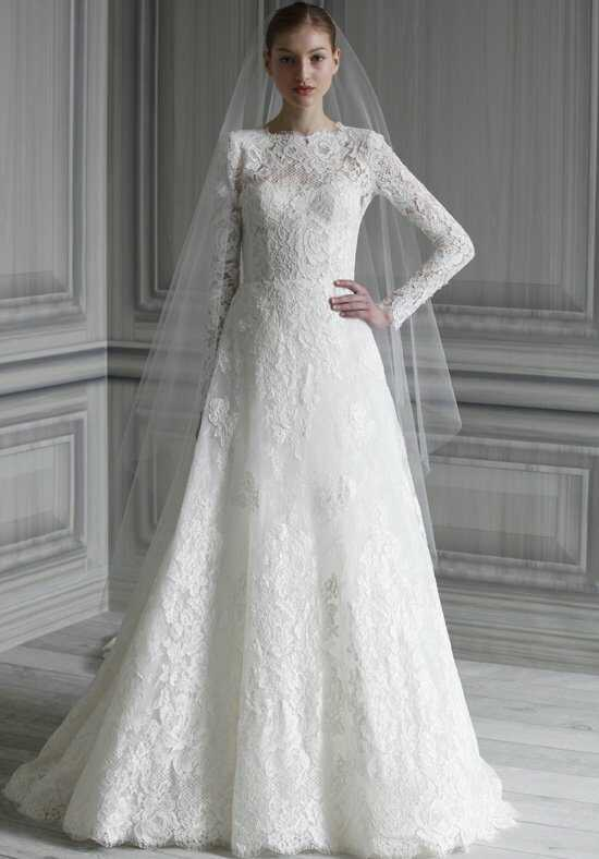 Monique Lhuillier Catherine A-Line Wedding Dress