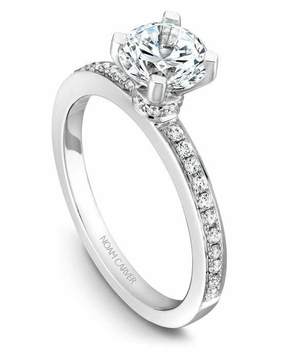 Noam Carver B012-01WS-100A Engagement Ring photo