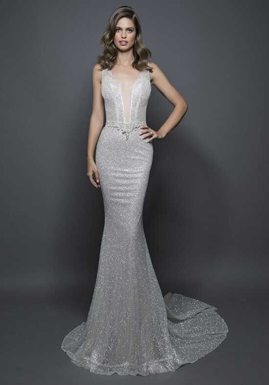 LOVE by Pnina Tornai for Kleinfeld 14584B Sheath Wedding Dress