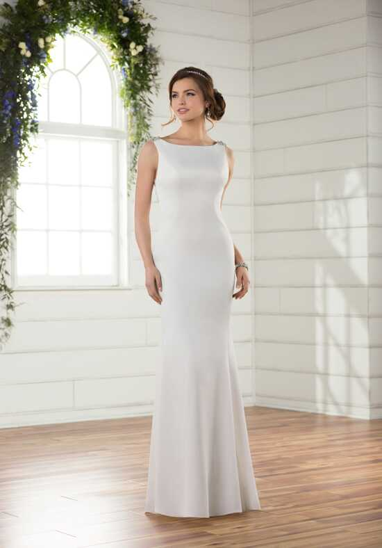 Essense of Australia D2357 Sheath Wedding Dress