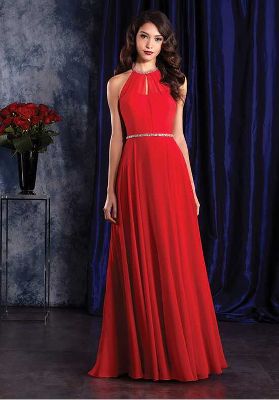Alfred Angelo Sapphire Bridesmaid Collection 8125 Halter Bridesmaid Dress