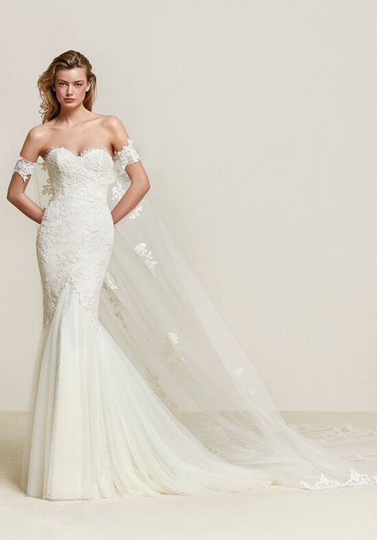 PRONOVIAS DRIMEA Mermaid Wedding Dress