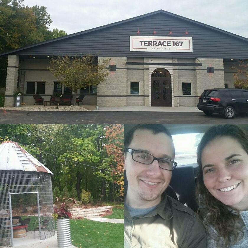 Amanda zakszewski and eric zakszewski 39 s wedding website for Terrace 167 richfield