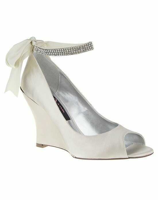 Nina Bridal Wedding Accessories EMMA_IVORY Ivory Shoe