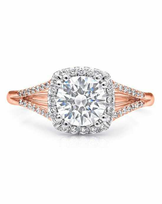 Coast Diamond Rose Gold Collection - LC5392 Engagement Ring photo