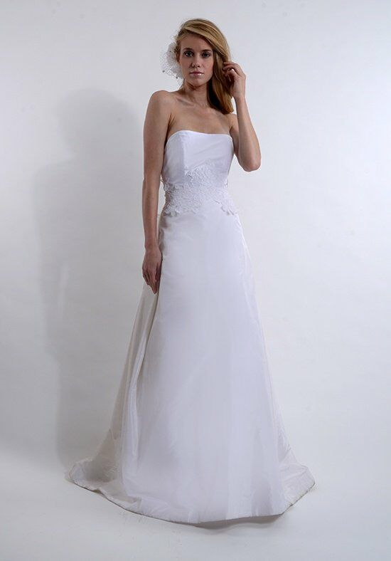 Elizabeth St. John Garden A-Line Wedding Dress