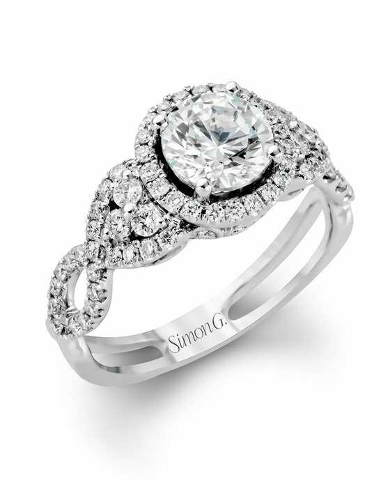 Simon G. Jewelry TR160 Engagement Ring photo