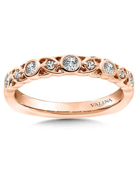 Valina RS9834BP Rose Gold Wedding Ring