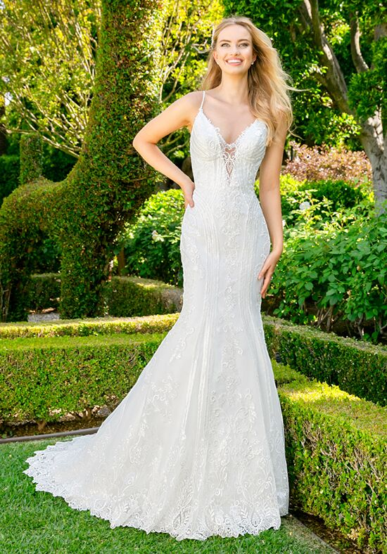 Moonlight Couture H1342 Mermaid Wedding Dress