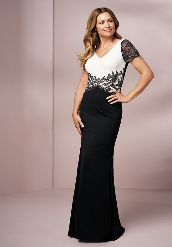 Jade J205007 Black Mother Of The Bride Dress