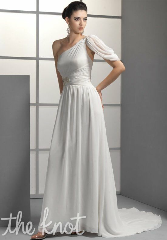 Pallas Athena PS2146 A Line Wedding Dress