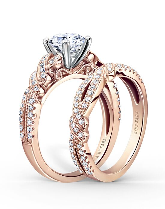 Kirk Kara K133R-B Rose Gold Wedding Ring