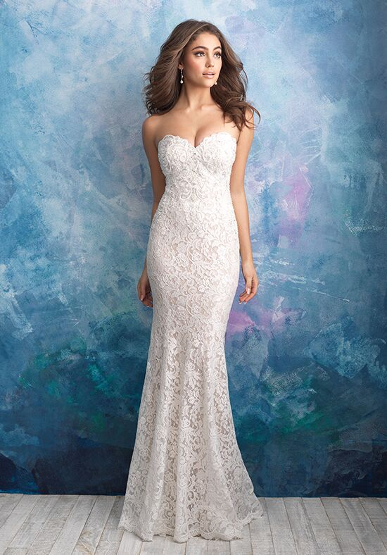 Allure Bridals 9566 Sheath Wedding Dress