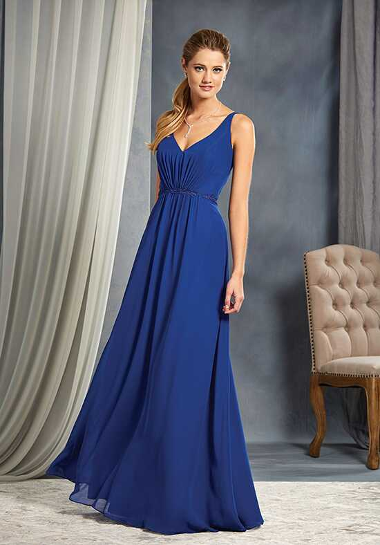 Alfred Angelo Signature Bridesmaids Collection 7366L V-Neck Bridesmaid Dress