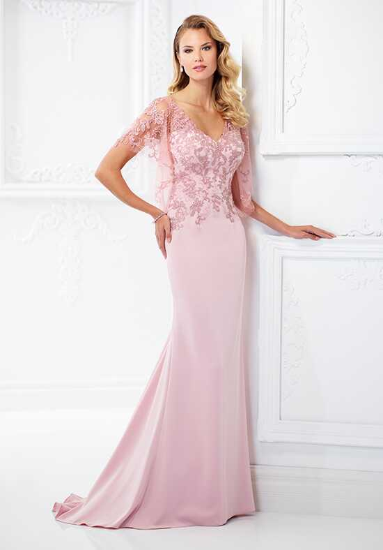 Montage by Mon Cheri 118967 Pink Mother Of The Bride Dress