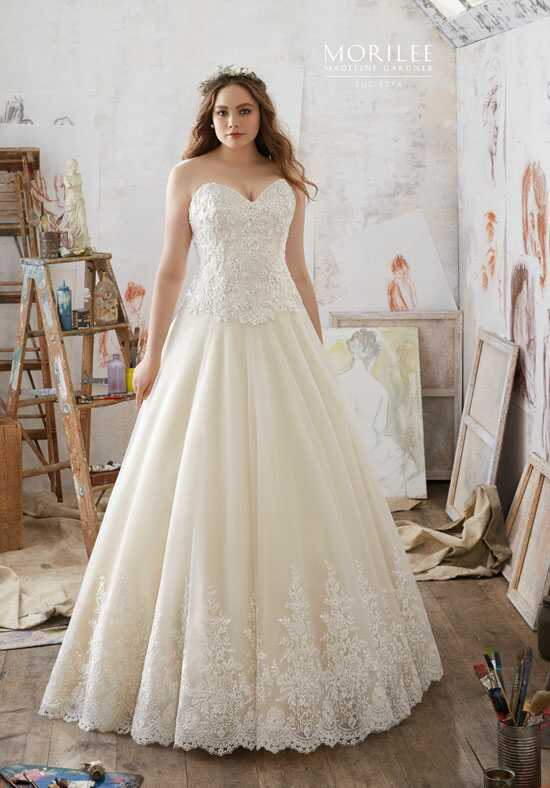 Morilee by Madeline Gardner/Julietta 3217 Ball Gown Wedding Dress
